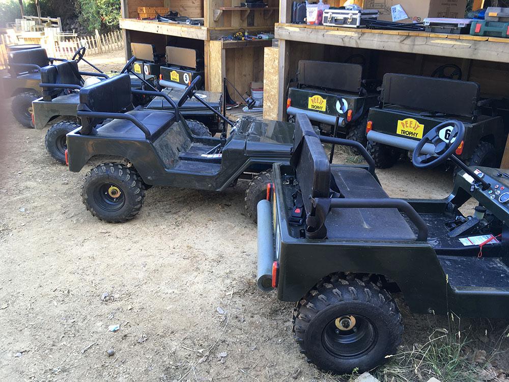 Les minis-jeeps